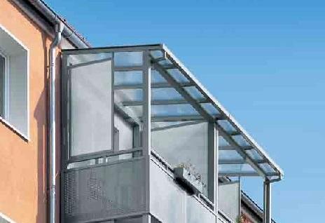 Zastřešení balkonu cena